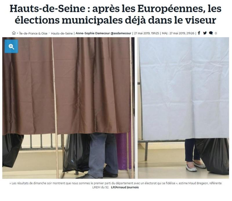 Elections européennes Boulogne-Billancourt  Clip1302