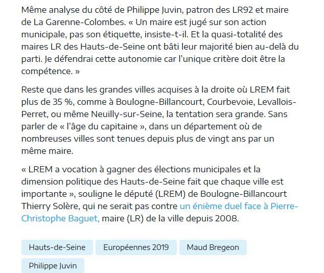 Elections européennes Boulogne-Billancourt  Clip1304