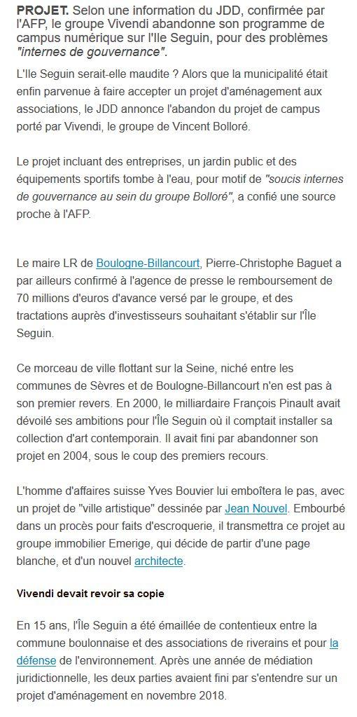 Campus Boulogne-Studios / Vivendi Clip1315