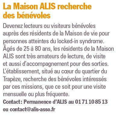 Association du Locked-in Syndrome (ALIS) Clip1351
