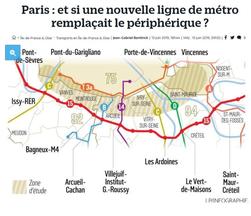 Idée de remplaçer le périphérique par une nouvelle ligne de métro Clip1390