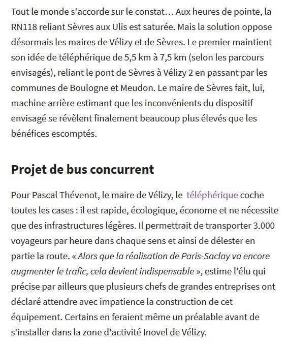 Téléphérique Boulogne-Billancourt (Pont de Sèvres) - Vélizy Clip1399
