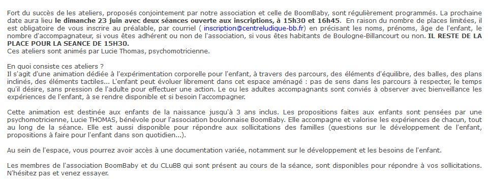 Centre Ludique de Boulogne-Billancourt (CLuBB) Clip1404