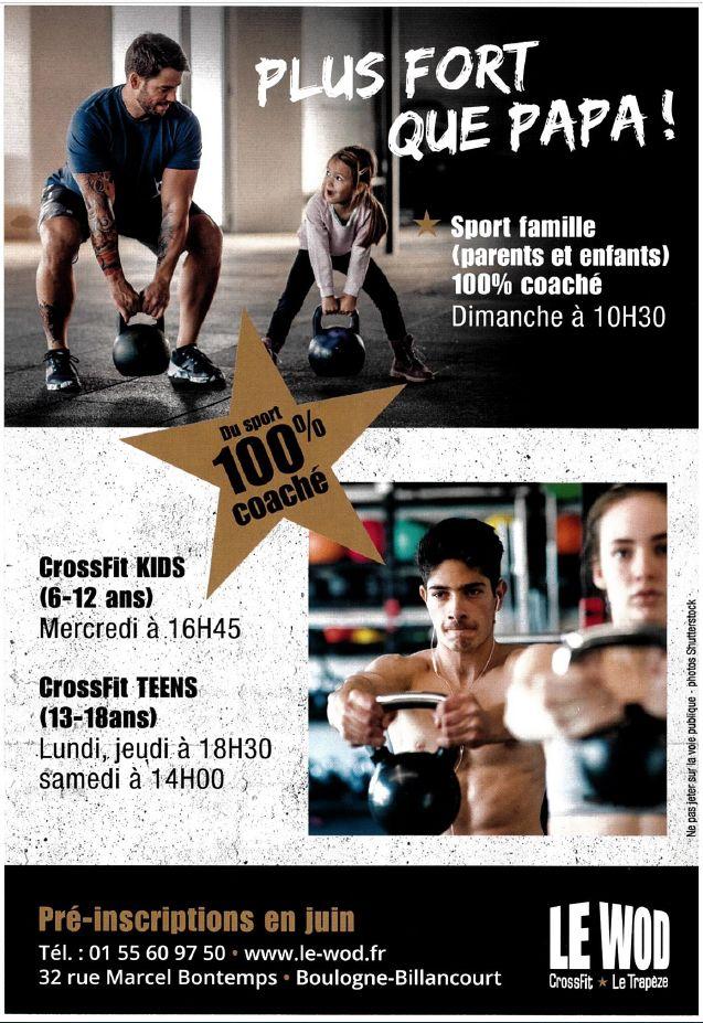 Salle de sport Le Wod - CrossFit Le Trapèze Clip1428