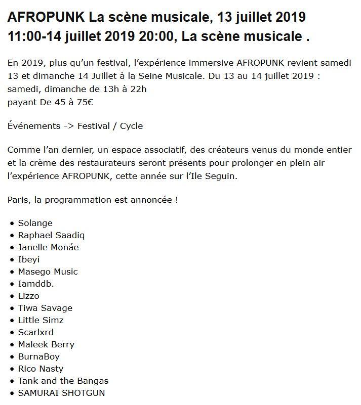Concerts et spectacles à la Seine Musicale de l'île Seguin Clip1441