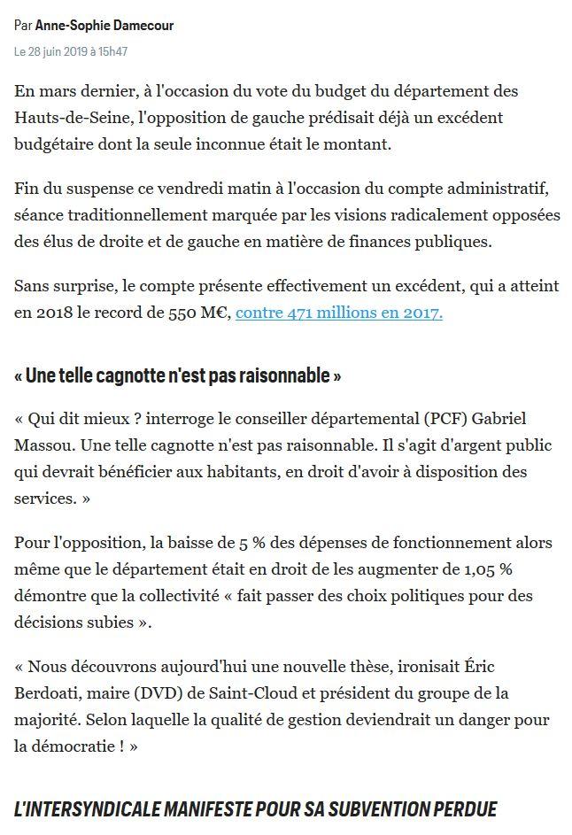 Informations sur les Hauts-de-Seine Clip1460