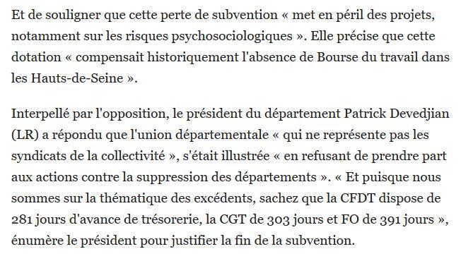 Informations sur les Hauts-de-Seine Clip1462