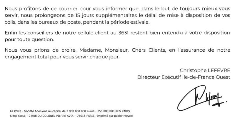 Distribution et problèmes de courriers Clip1477