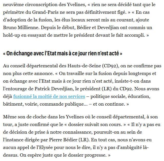 Fusion des départements des Hauts de Seine et des Yvelines Clip1647