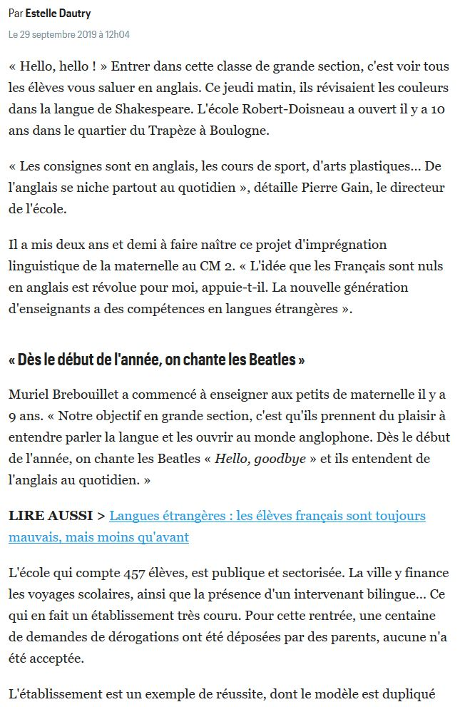 Groupe scolaire Robert Doisneau : informations, photos et vidéos Clip1687