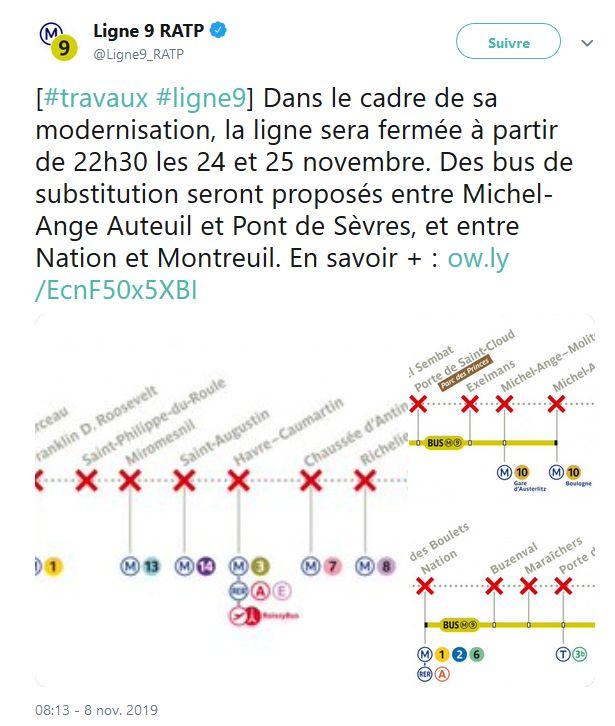 Métro ligne 9 Clip1873