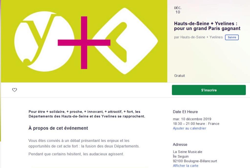 Fusion des départements des Hauts de Seine et des Yvelines Clip1874