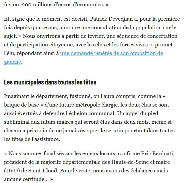 Fusion des départements des Hauts de Seine et des Yvelines Clip2038