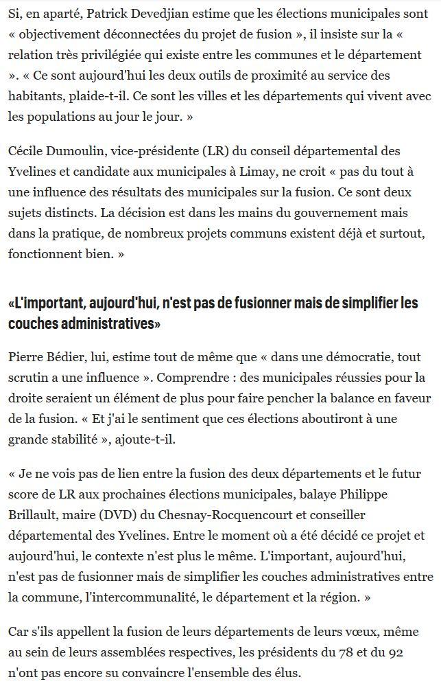 Fusion des départements des Hauts de Seine et des Yvelines Clip2040