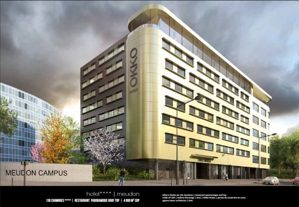Hôtel 4 étoiles Meudon Campus Clipb162