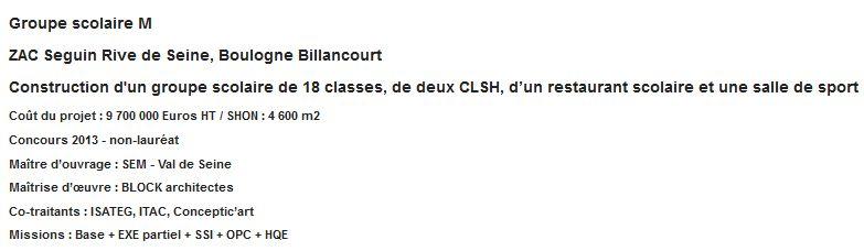 Groupe scolaire du numérique - macrolot M : informations et photos Clipb176