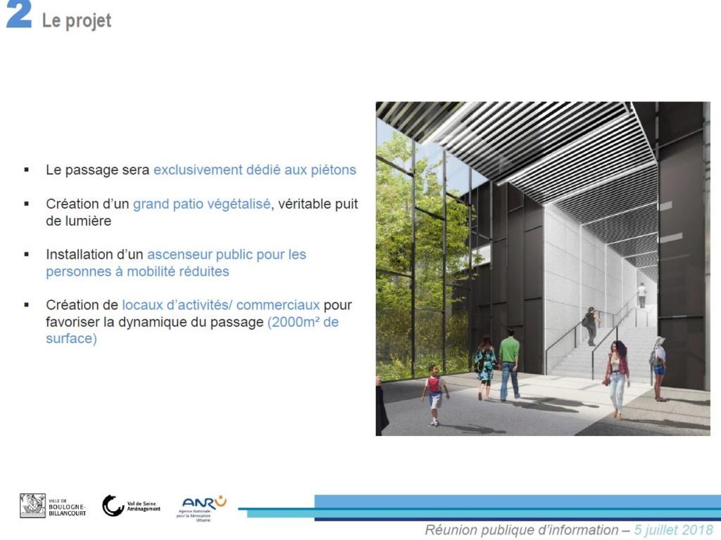 Rénovation du passage commercial du quartier du Pont de Sèvres Clipb226