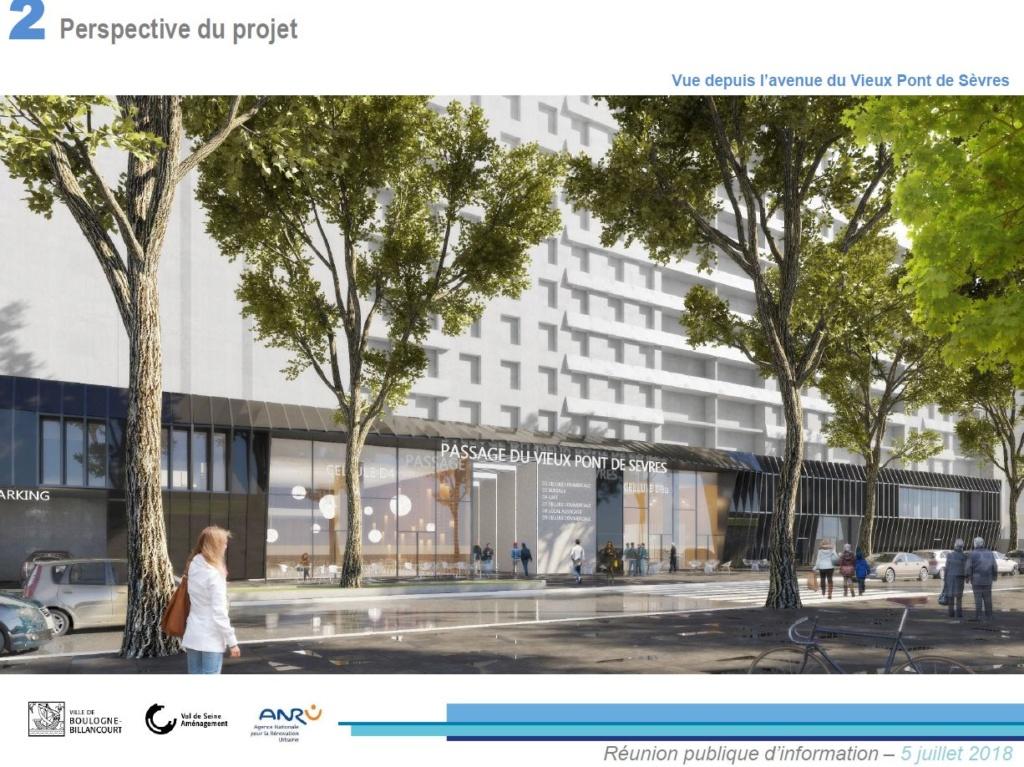 Rénovation du passage commercial du quartier du Pont de Sèvres Clipb227