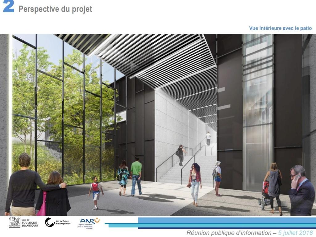 Rénovation du passage commercial du quartier du Pont de Sèvres Clipb230