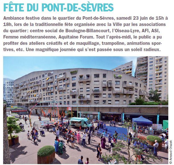 Fête des associations du Pont-de-Sèvres Clipb269
