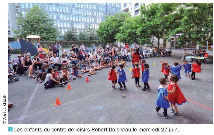 Le centre de loisirs de l'école Robert Doisneau Clipb271