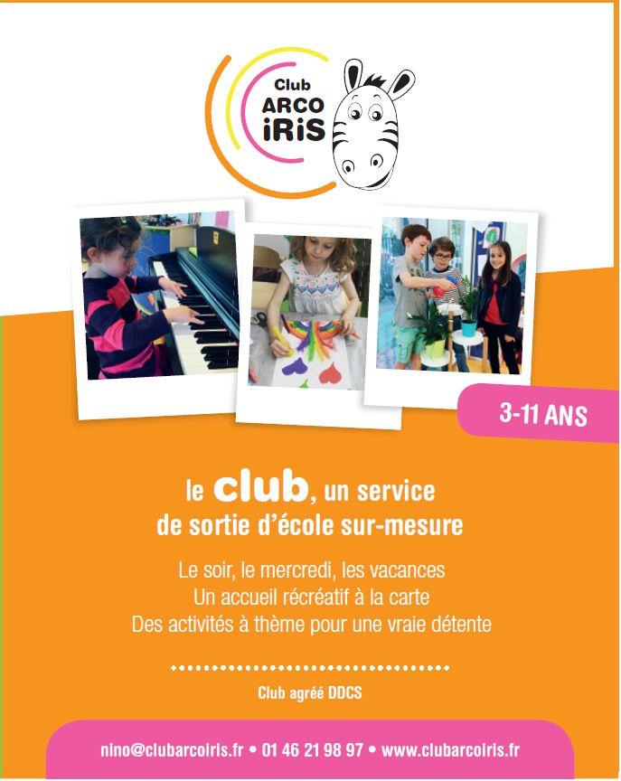 Club pour enfants Arco Iris Clipb273