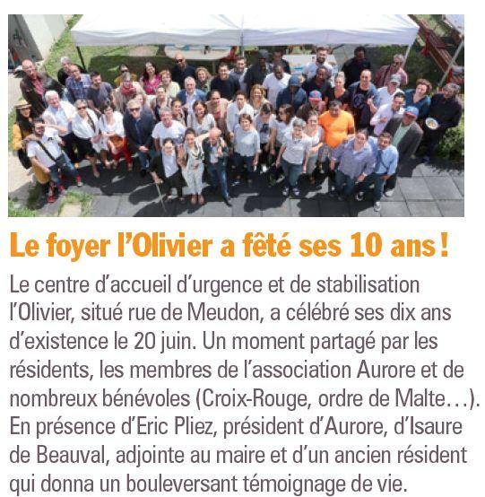 Association Aurore - Foyer de l'Olivier - Hébergement d'urgence pour SDF Clipb279