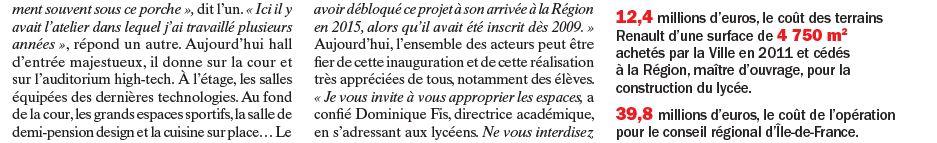 Informations sur le lycée du trapèze Clipb383
