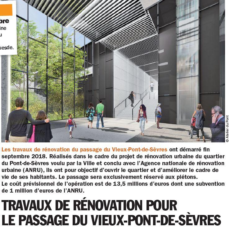 Rénovation du passage commercial du quartier du Pont de Sèvres Clipb468