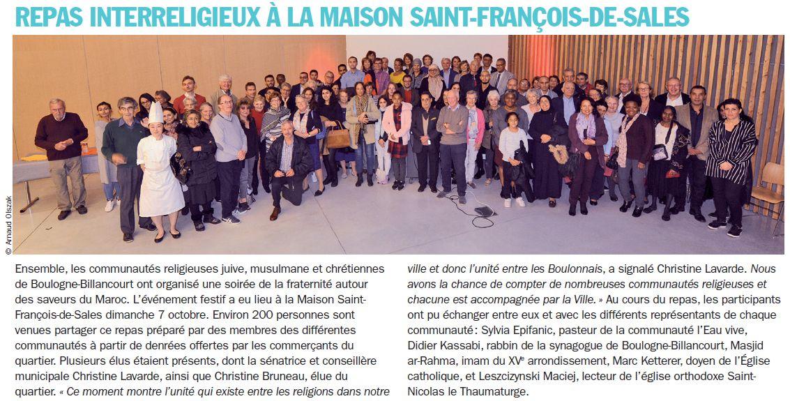 Evènements proposés par la Maison Saint François de Sales Clipb475