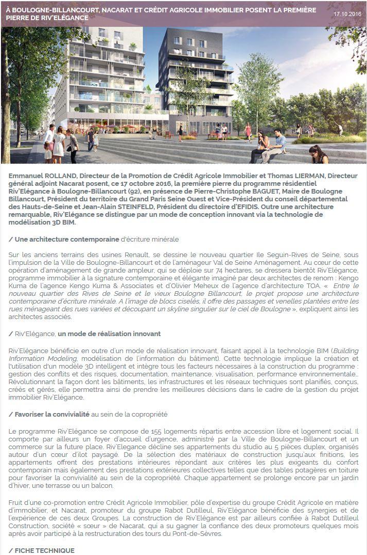 Informations sur Riv'Elégance Clipb578