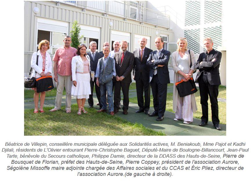 Association Aurore - Foyer de l'Olivier - Hébergement d'urgence pour SDF Clipb624