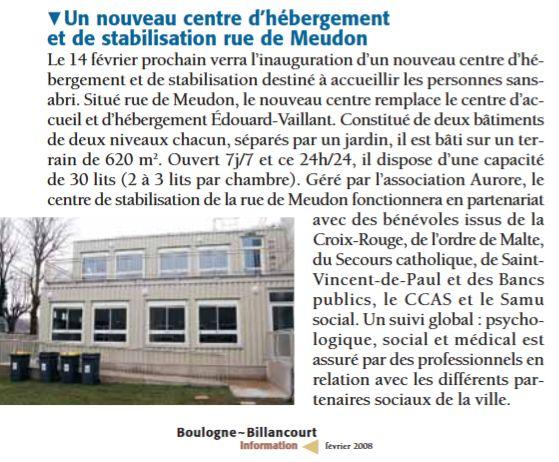 Association Aurore - Foyer de l'Olivier - Hébergement d'urgence pour SDF Clipb667