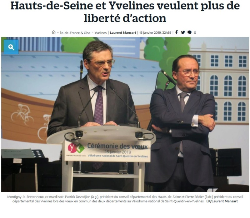 Fusion des départements des Hauts de Seine et des Yvelines Clipb736
