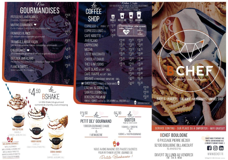Restaurant Bagel chef (Bchef) Clipb751