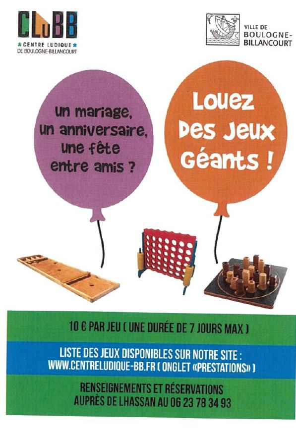 Centre Ludique de Boulogne-Billancourt (CLuBB) Clipb814
