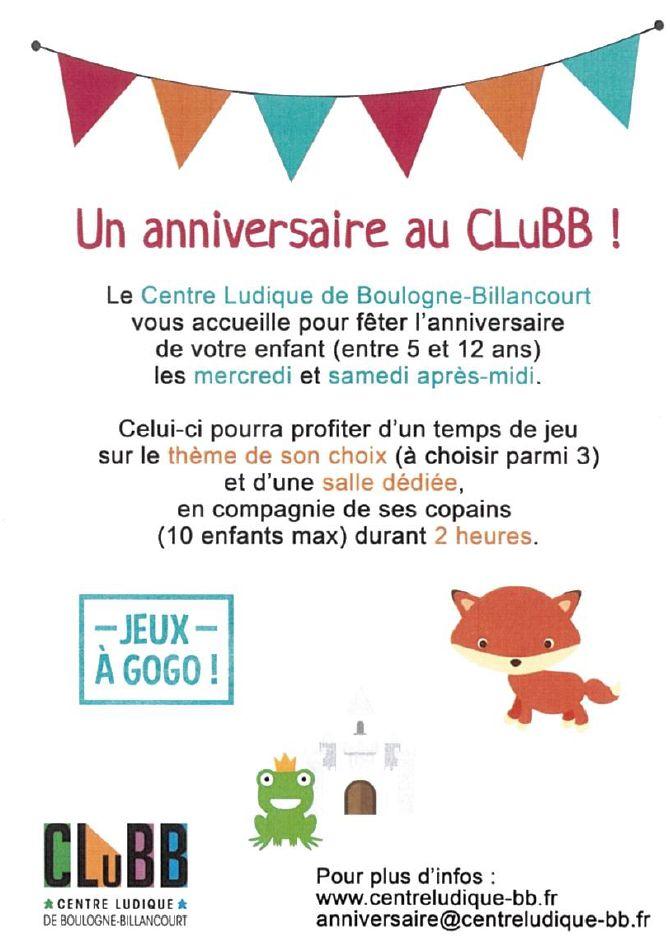 Centre Ludique de Boulogne-Billancourt (CLuBB) Clipb815