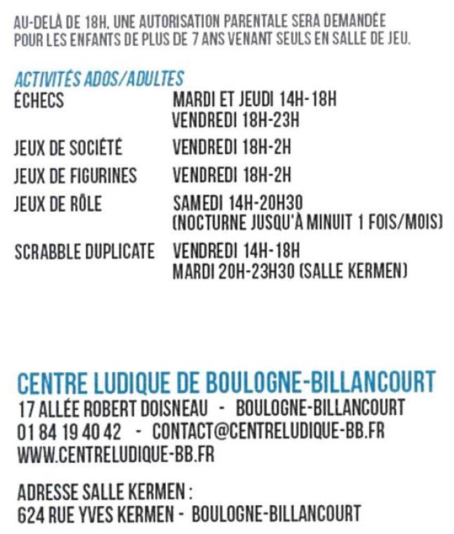 Centre Ludique de Boulogne-Billancourt (CLuBB) Clipb843