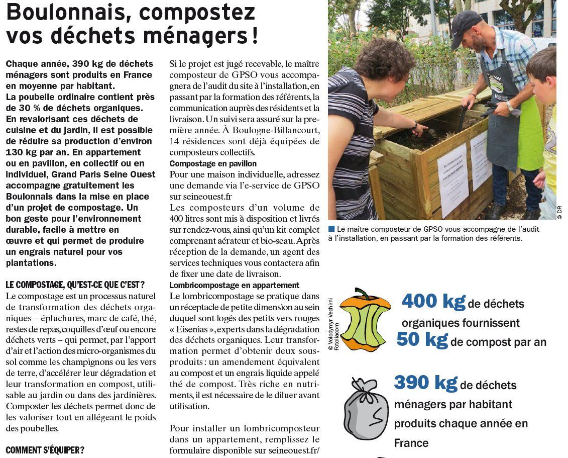 Gestion des déchets verts dans le quartier - Compost - Compostage Clipb903