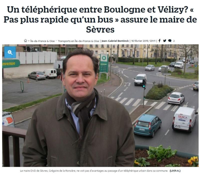 Téléphérique Boulogne-Billancourt (Pont de Sèvres) - Vélizy Clipb916