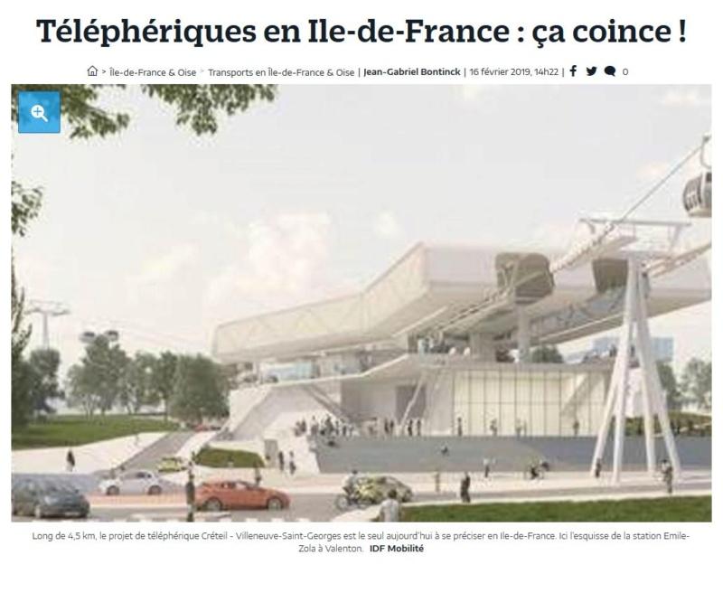 Téléphérique Boulogne-Billancourt (Pont de Sèvres) - Vélizy Clipb920