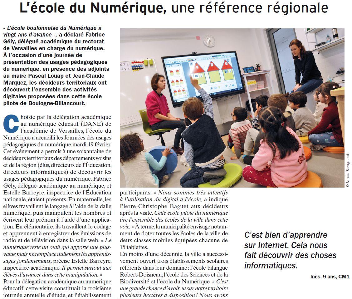 Groupe scolaire du numérique - macrolot M : informations scolaires Clipb994