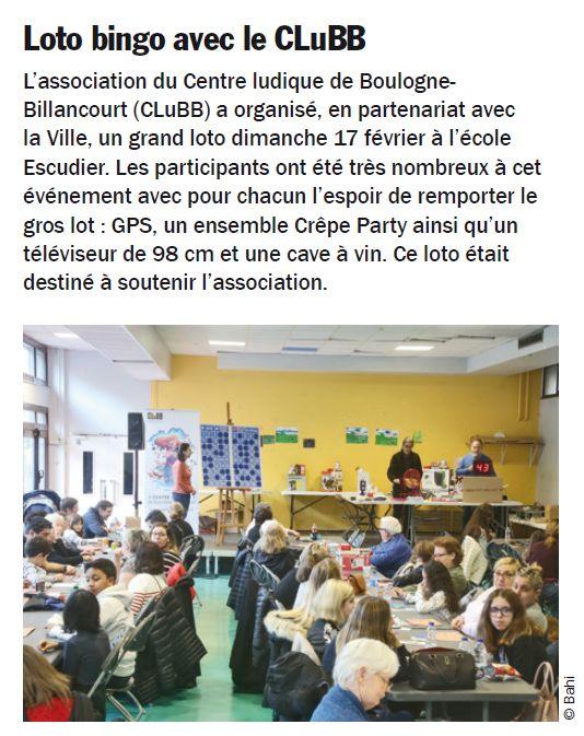 Centre Ludique de Boulogne-Billancourt (CLuBB) Clipb999