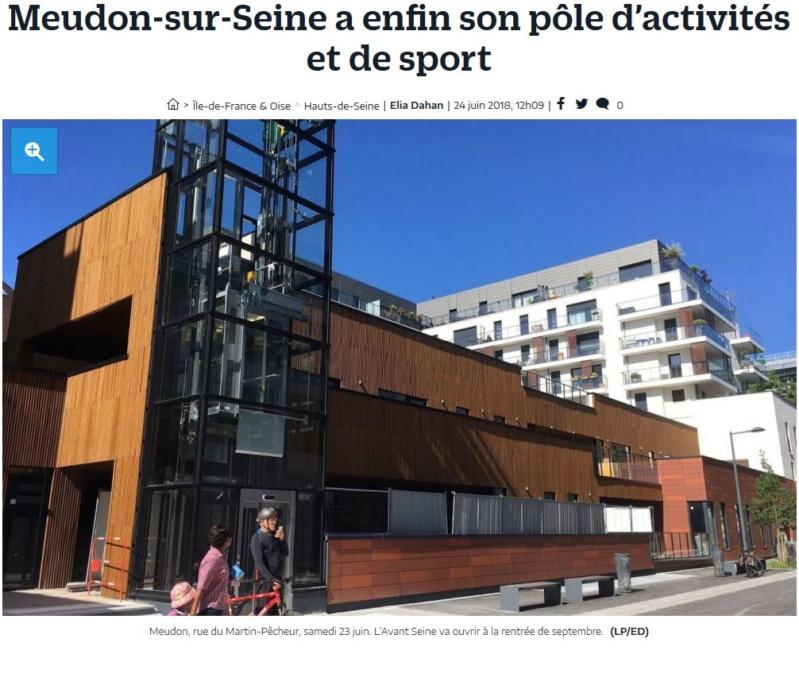Pôle d'activités et de sport de Meudon : Avant Seine Clipbo67