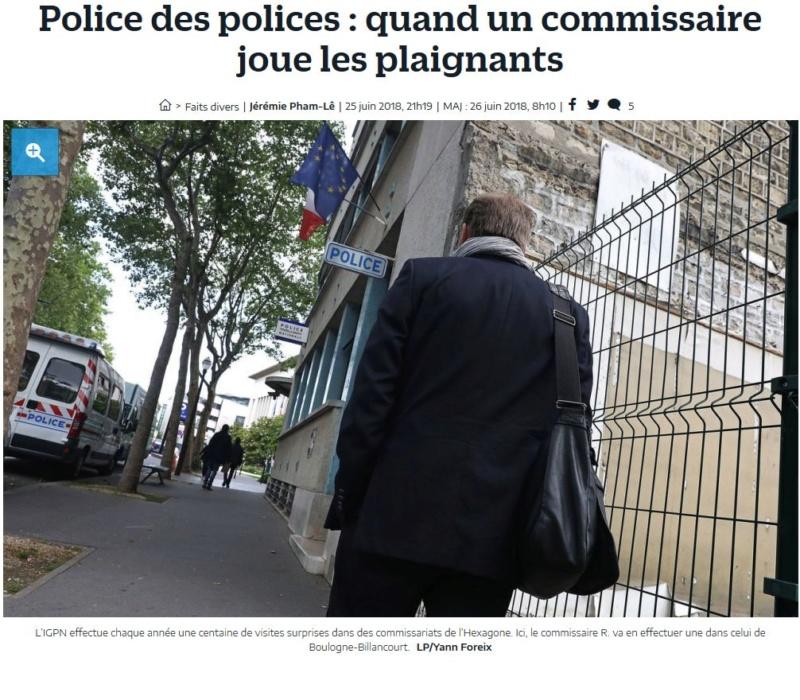 Commissariat de Boulogne-Billancourt Clipbo95