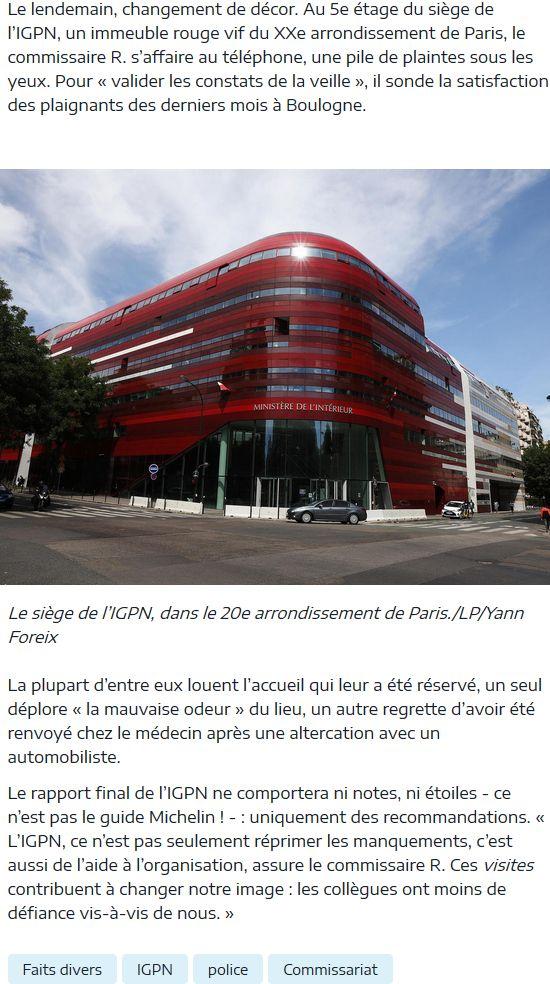 Commissariat de Boulogne-Billancourt Clipbo98