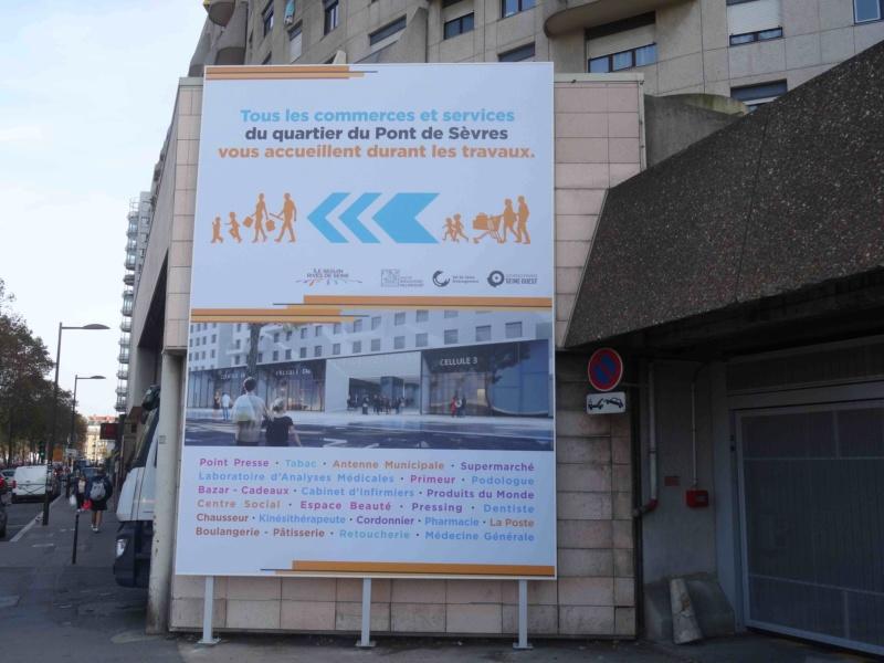 Rénovation du passage commercial du quartier du Pont de Sèvres Dsc00345