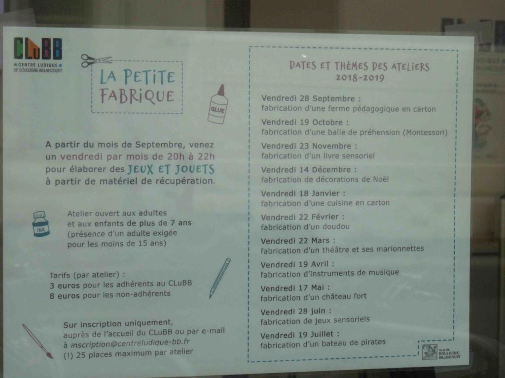 Centre Ludique de Boulogne-Billancourt (CLuBB) Dsc00346