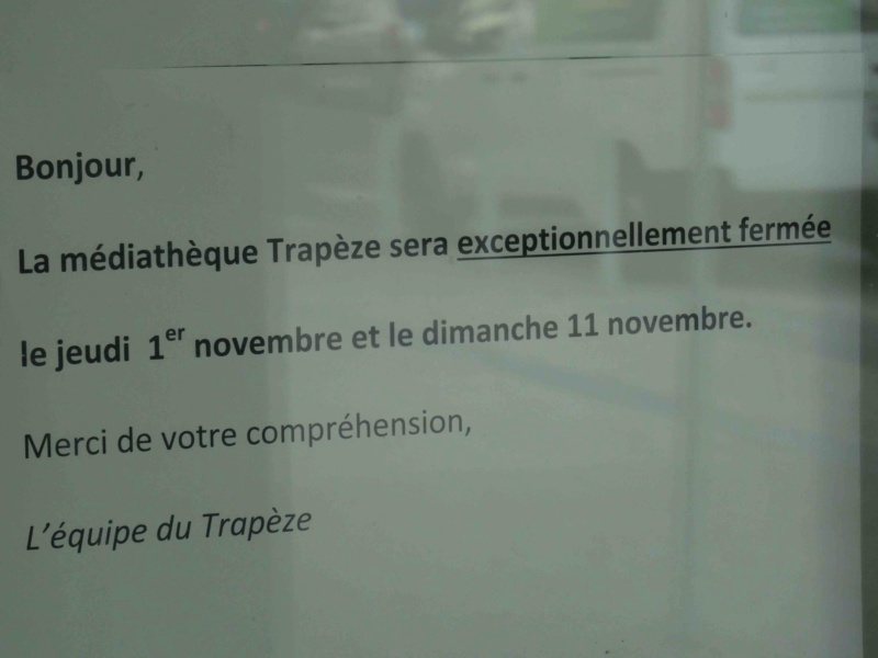 Médiathèque du trapèze Dsc00350