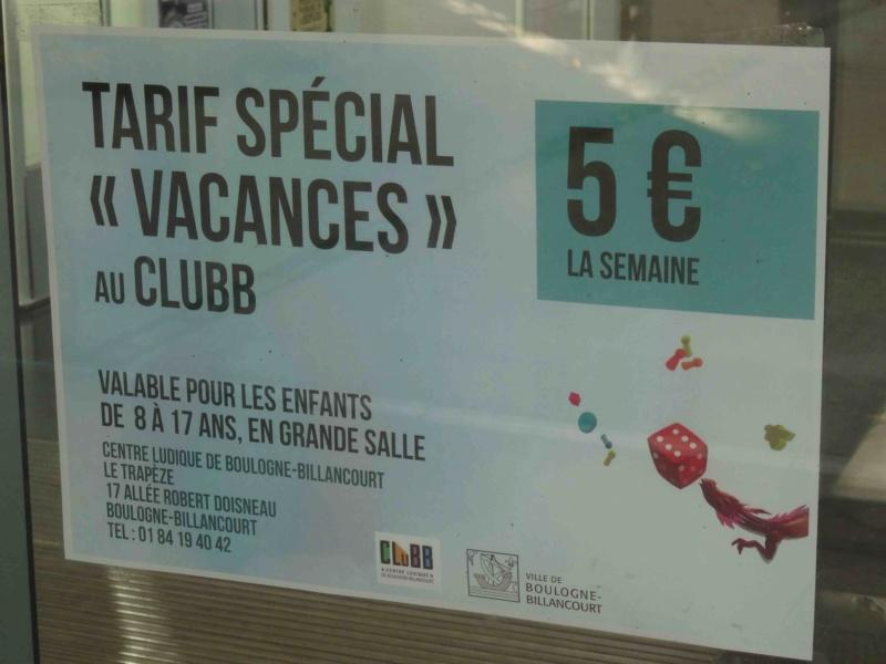 Centre Ludique de Boulogne-Billancourt (CLuBB) Dsc00351